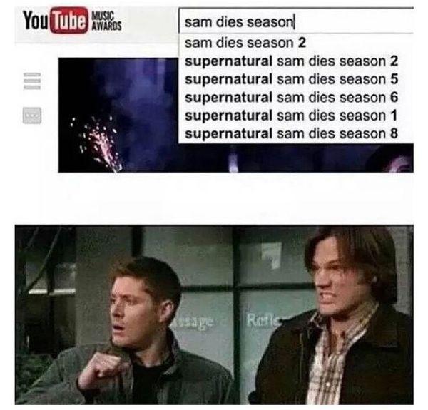 Funniest Supernatural Jokes Meme Graphic