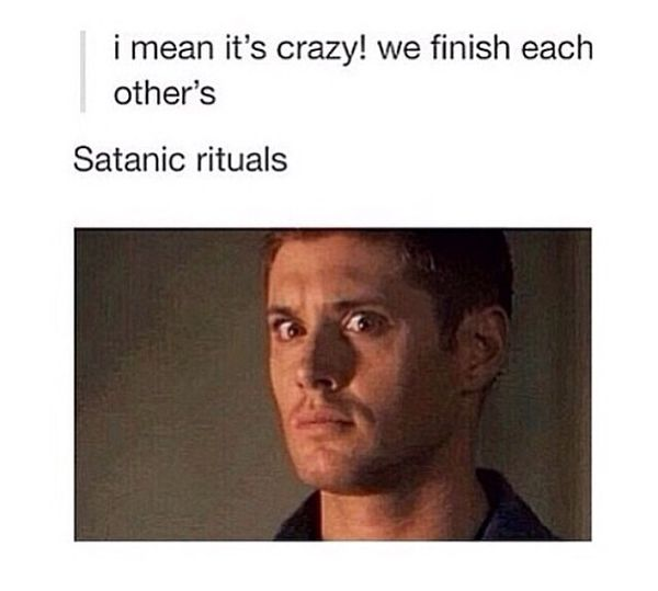 Funniest Supernatural Jokes Picture