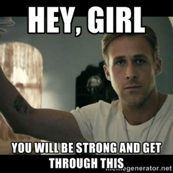 Funniest Will be Strong Motivation Meme Photo
