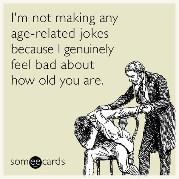 Funniest common old friend birthday meme image