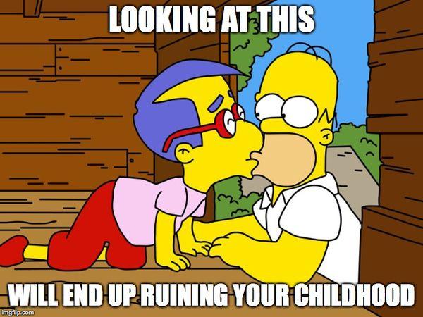 Funniest cool homer simpson meme image