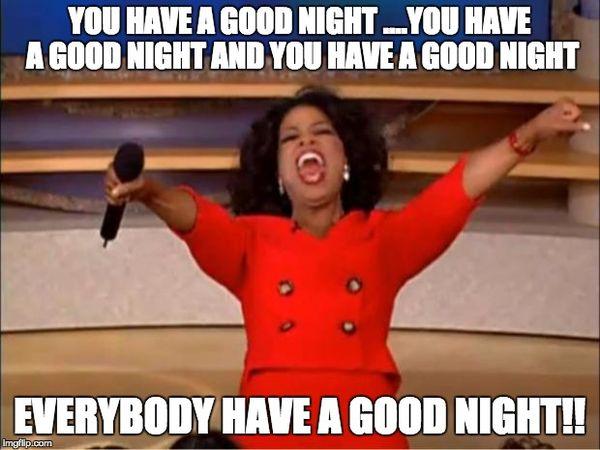 Funniest have a good night meme jokes