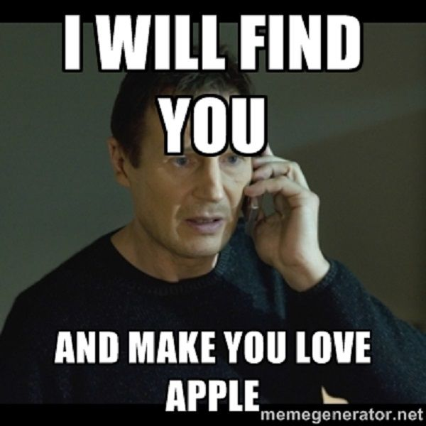 Funny Apple Memes Photo