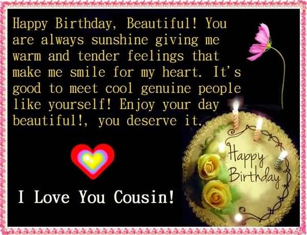 Funny Birthday Cousin Funny Quotes for Girl Joke