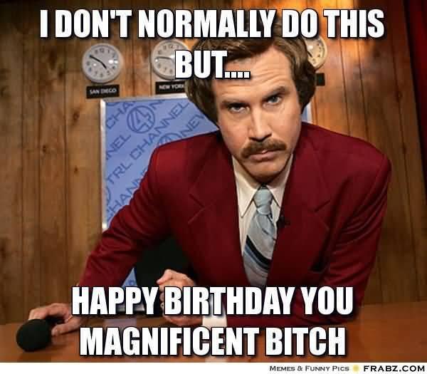 Funny Dirty Happy Birthday Meme Photo