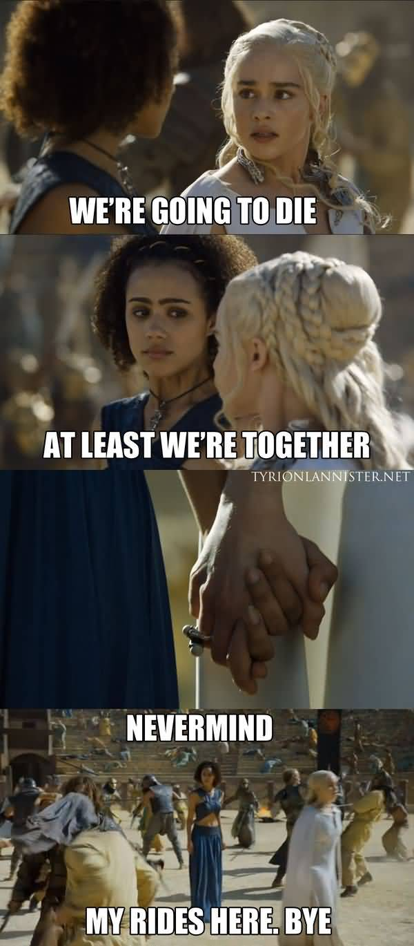 Funny Game of Thrones Daenerys Meme Pictures