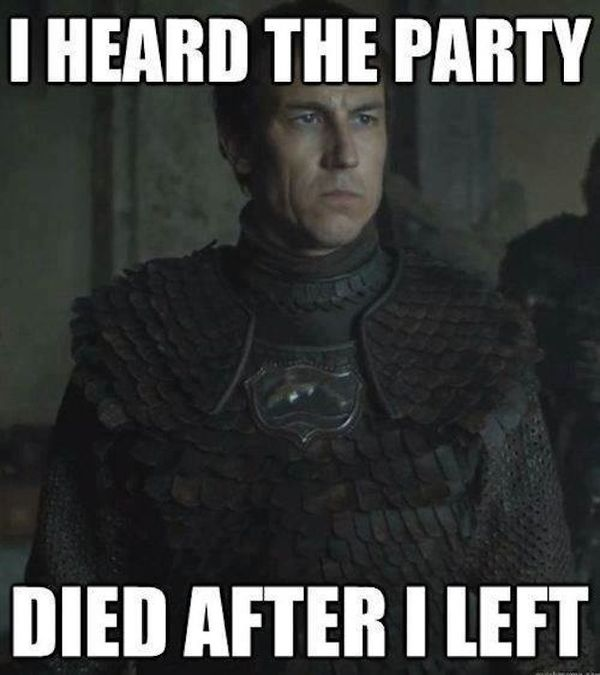 Funny Game of Thrones Election Meme Image