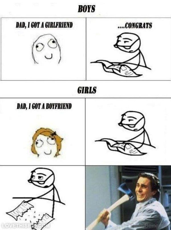 Funny Gf Bf Memes Photo