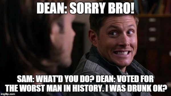 Funny Sam and Dean Memes Image