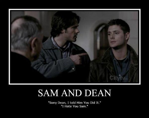 Funny Sam and Dean Memes Joke