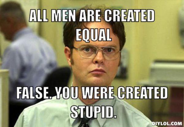 Funny Stupid Men Memes Photo