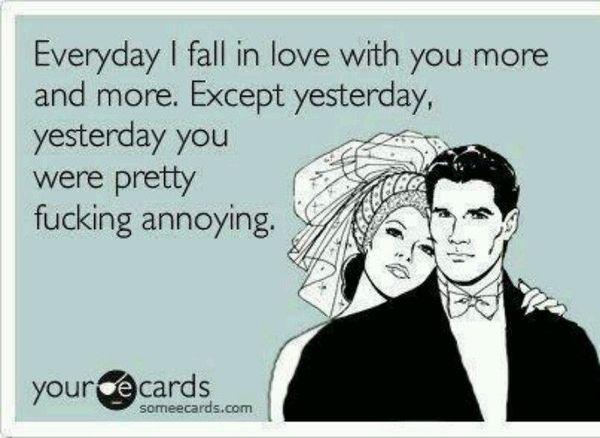 Funny annoying husband meme image