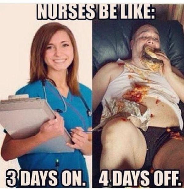 Funny best nurses be like humour meme