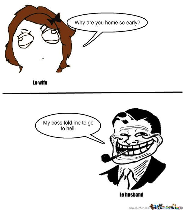 Funny best wife husband meme joke