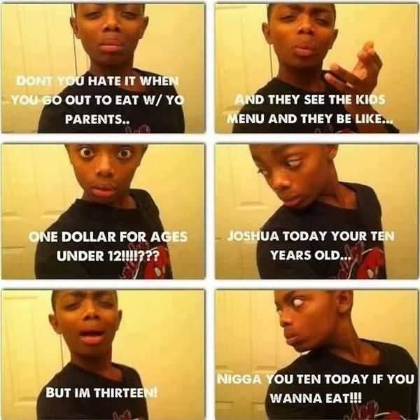 Funny black ppl jokes image