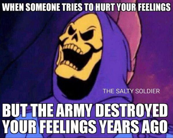Funny common feeling salty meme image