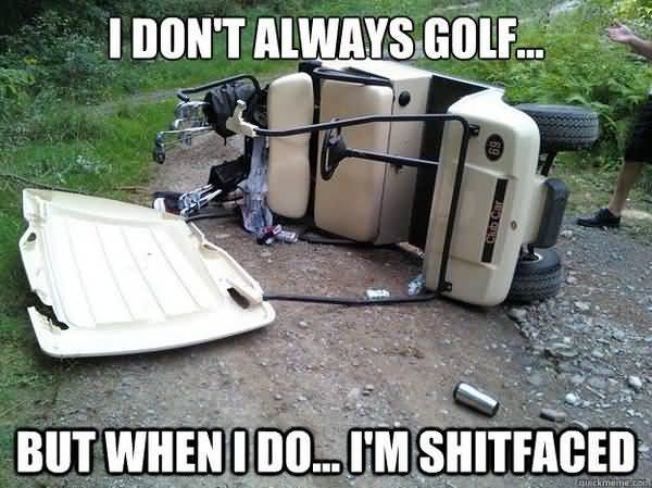 Funny common funny golf memes image
