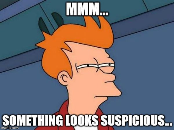 Funny common suspicious futurama meme jokes