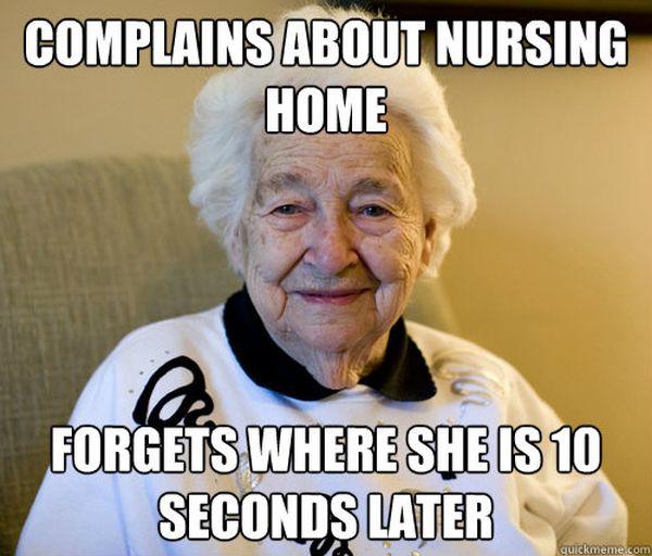 Funny cool nursing home meme jokes