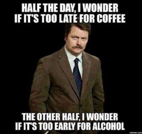 Funny drunk hangover meme jokes