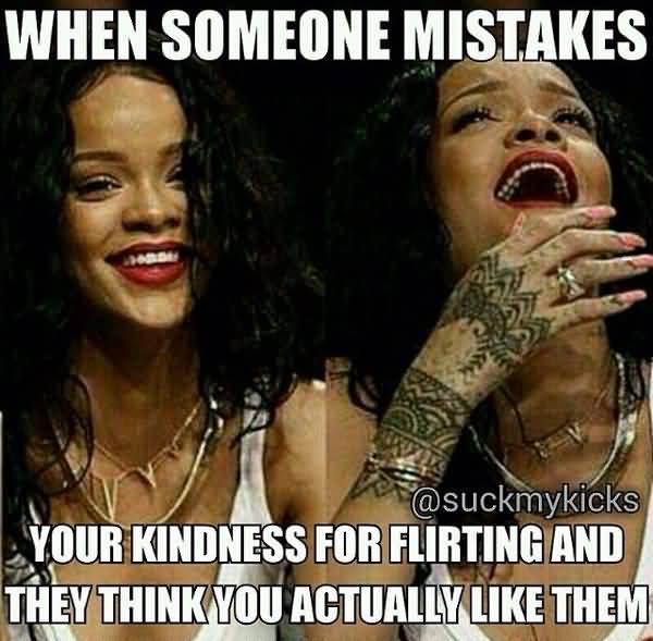 Funny flirting meme gifs
