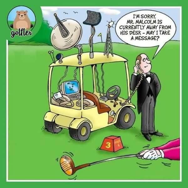 Funny golf bandit jokes image