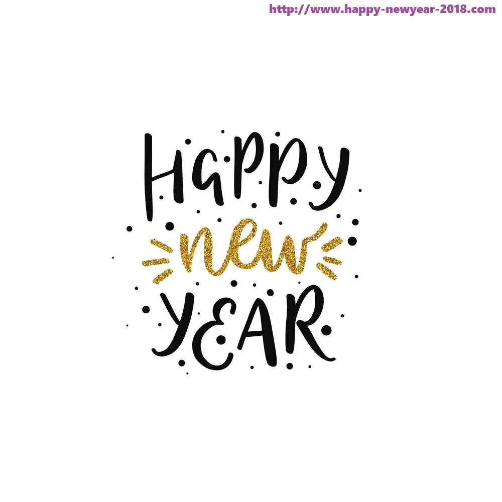 Happy New Year 2018 Cards Image Picture Photo Wallpaper 05