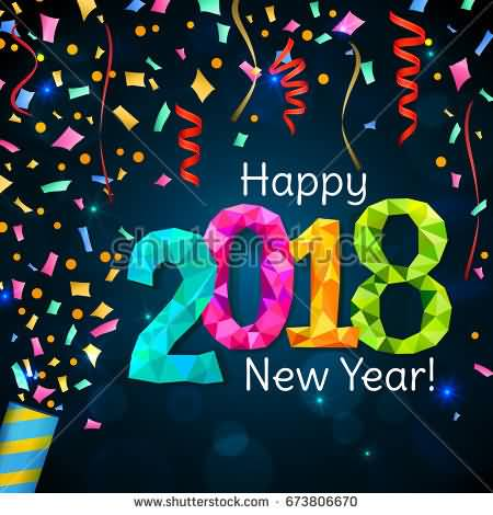 Happy New Year 2018 Cards Image Picture Photo Wallpaper 07