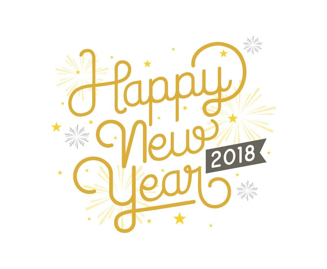Happy New Year 2018 Cards Image Picture Photo Wallpaper 10