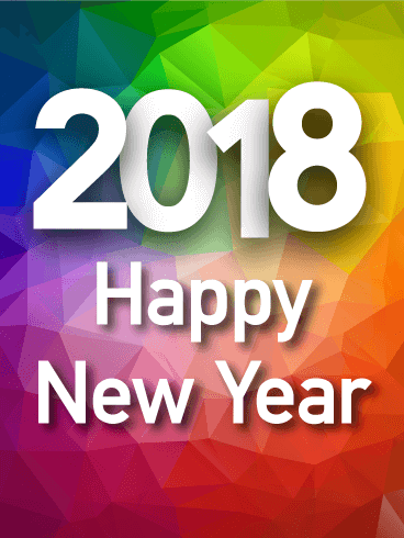 Happy New Year 2018 Cards Image Picture Photo Wallpaper 13