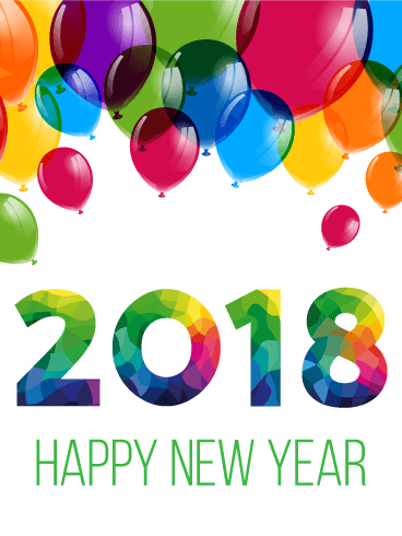 Happy New Year 2018 Cards Image Picture Photo Wallpaper 15