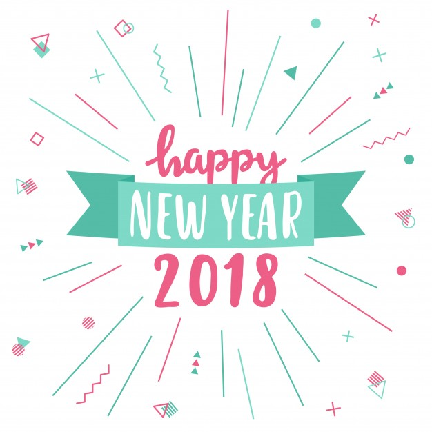 Happy New Year 2018 Cards Image Picture Photo Wallpaper 16