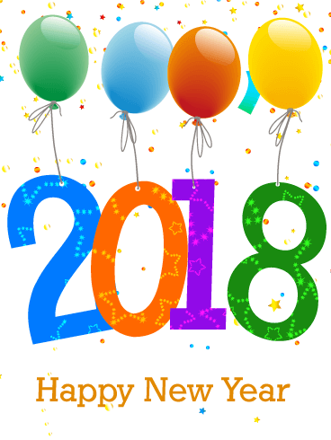 Happy New Year 2018 Cards Image Picture Photo Wallpaper 17