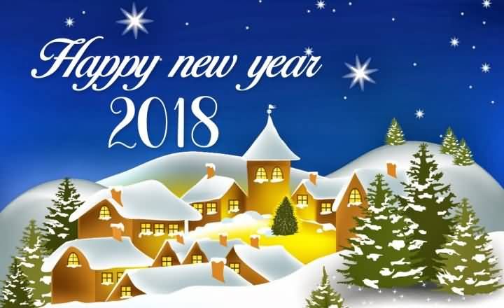 Happy New Year 2018 Cards Image Picture Photo Wallpaper 18