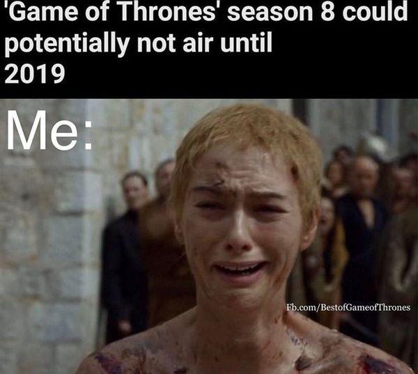 Hilarious Game of Thrones Season 8 Meme Graphic