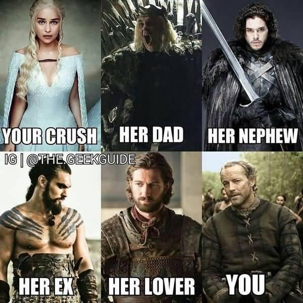 Hilarious Game of Thrones Season 8 Meme Joke