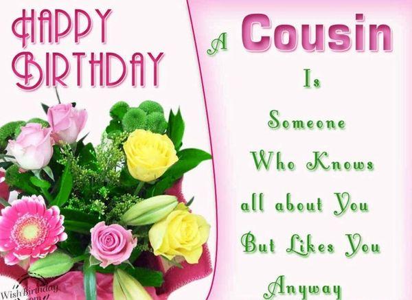 Hilarious Happy Birthday Female Cousin Meme