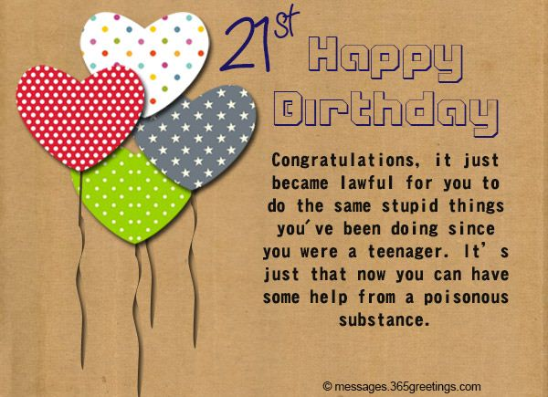 Hilarious Images of 21st Birthday Cards Memes