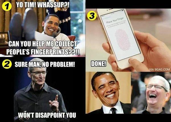 Hilarious Iphone User Meme Photo