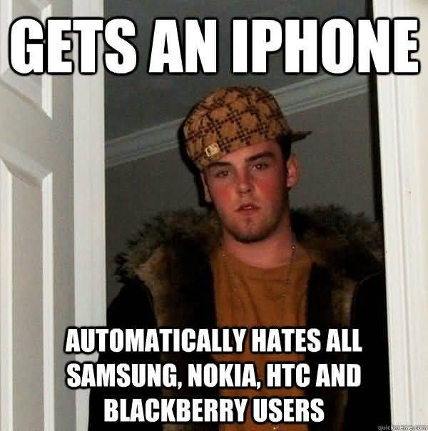 Hilarious Iphone Users Be Like Meme Image