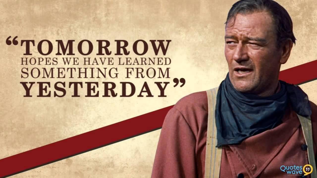 John Wayne Quote Life Is Hard 04