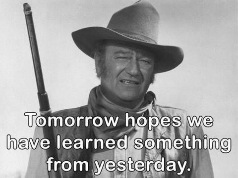 John Wayne Quote Life Is Hard 10