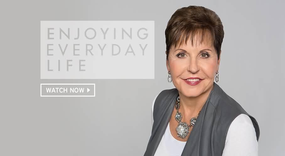 Joyce Meyer Enjoying Everyday Life Quotes 60 QuotesBae Inspiration Joyce Meyer Enjoying Everyday Life Quotes