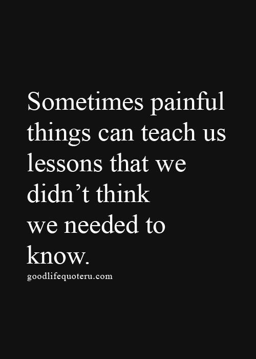Lesson In Life Quote 03
