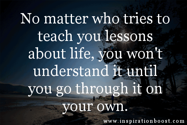 Lesson In Life Quote 06