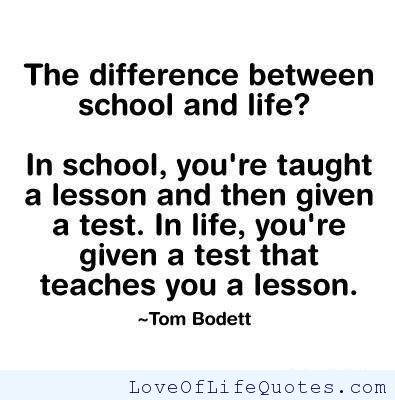 Lesson In Life Quote 08