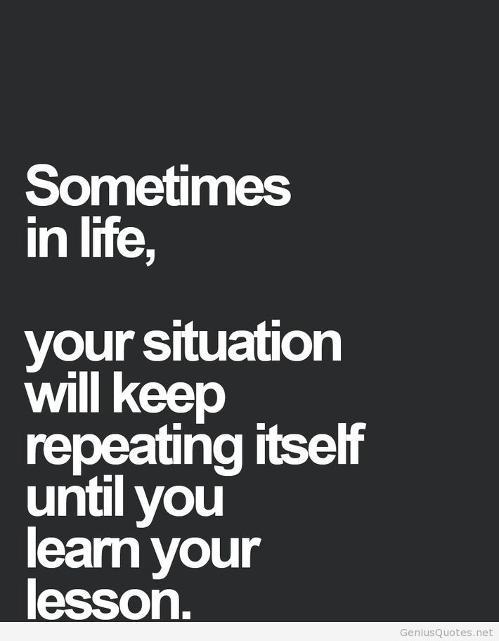 Lesson In Life Quote 16
