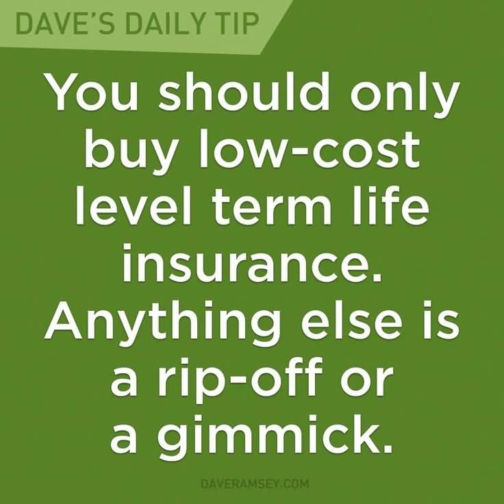 Level Term Life Insurance Quotes 01
