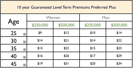 Level Term Life Insurance Quotes 07