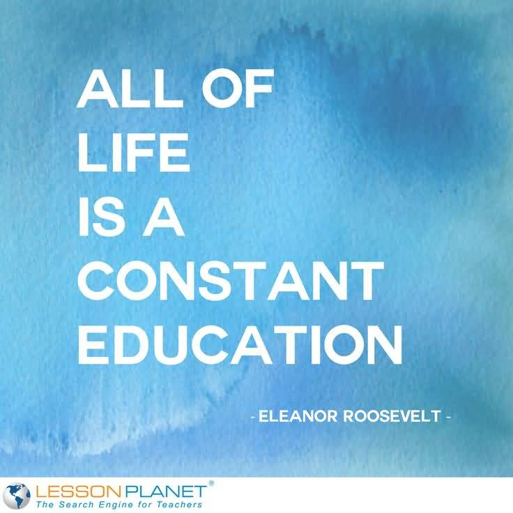 Life Education Quotes 60 QuotesBae Gorgeous Life Education Quotes
